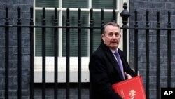 İngiltere Ticaret Bakanı Liam Fox