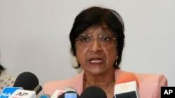 나비 필레이 유엔 인권최고대표 (자료사진)