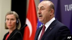 ترک وزیرِ خارجہ نے دعویٰ کیا تھا کہ امریکی حکومت فتح اللہ گولن کو ترکی کے حوالے کرنے پر غور کر رہی ہے۔ (فائل فوٹو)