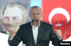 ترک صدر رجب طیب اردوان، فائل فوٹو