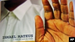 """""""Cinco Dedos de Vida"""" , capa do livro de Ismael Mateus"""