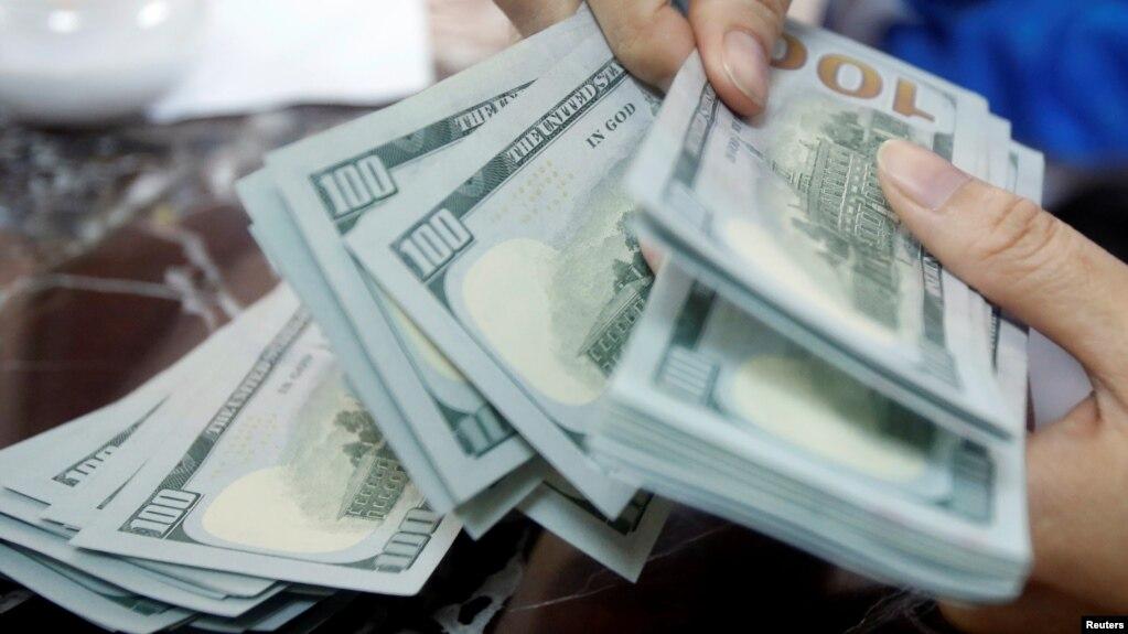 Lãi suất tiền gửi đôla hiện bằng 0% ở Việt Nam nhưng có thể sẽ sớm thay đổi