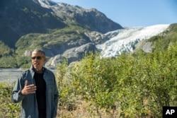 ປະທານາທິບໍດີ ສະຫະລັດ ທ່ານ Barack Obama ກ່າວຕໍ່ບັນດານັກຂ່າວ.