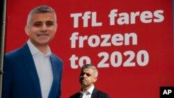 Ông Sadig Khan - ứng cử viên chức đô trưởng London.