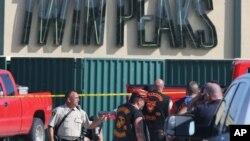 Autoridades investigam tiroteio em Waco Maio 17, 2015, Texas.