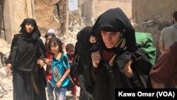 摩蘇爾難民不知何時能回家(資料圖片)
