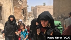 Người tị nạn từ khu phố cổ Mosul sẽ tạm trú trong các trại tị nạn.