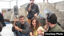 Safinez Bousbia za vrijeme snimanja filma El Gusto (Courtesy Quidam Production El Gusto)
