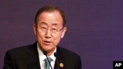 L'Ebola se propage beaucoup plus rapidement que la réponse internationale, a averti Ban Ki-moon (AP)