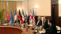 在巴格達舉行的伊朗核會談。