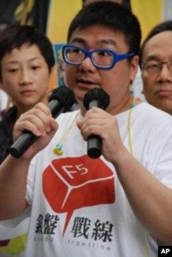 香港網民組織鍵盤戰線發言人辛比