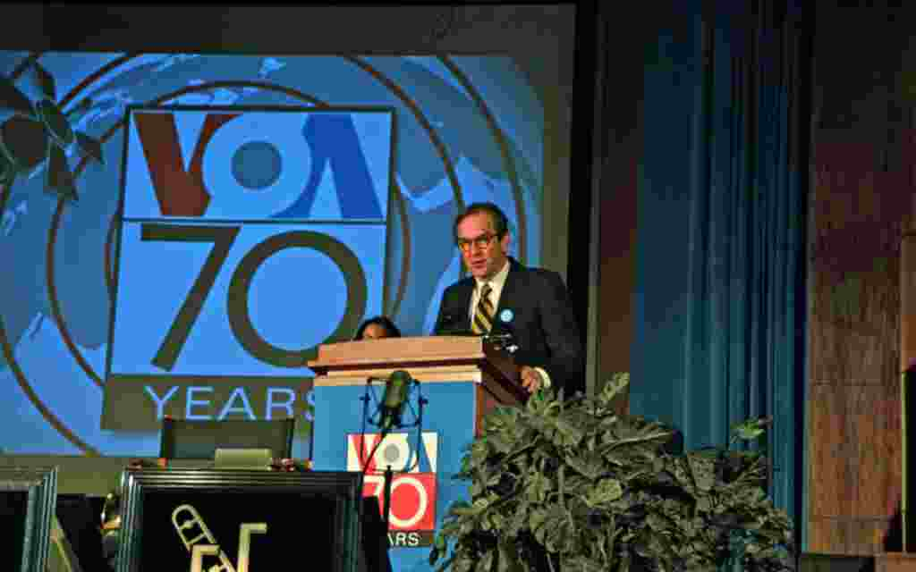 VOA Director David Ensor introduced the rest of the program.