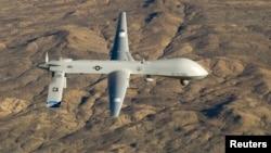 Máy bay không người lái Predator của quân đội Hoa Kỳ.
