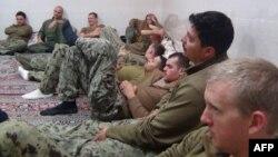 Militares americanos detidos pelo Irão