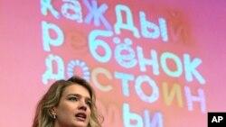 На трибуне - супермодель Наталья Водянова