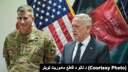 جیم متیس گفته است که وضعیت جنگی موجود در افغانستان به سرعت هرچه ممکن باید تغیر داده شود