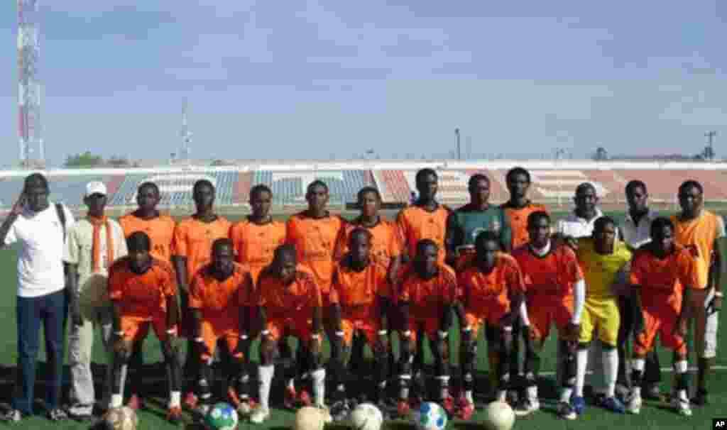 'Yan wasan kungiyar kwallon kafa ta VOA Hausa Flamingo FC, Bauchi