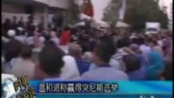 温和伊斯兰政党声称赢得突尼斯选举