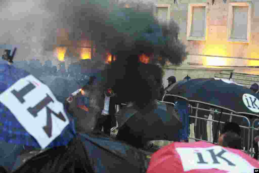 Albania Protest