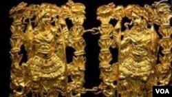 د باختري خزانې د طلا یوه نمونه