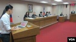 台湾立法院外交及国防委员会6月2号质询的情形