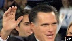 美國共和黨總統參選人﹐前麻薩諸塞州州長羅姆尼。(資料圖片)