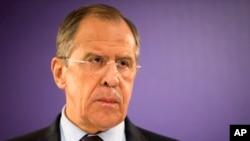 세르게이 라브로프 러시아 외무장관 (자료사진)