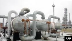 Jalur pipa transit gas alam Rusia di Poltava, Ukraina (foto: dok).