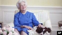 La ex primera dama de EE.UU. Barbara Bush se encuentra en estado grave y ha decidido no recibir más tratamiento.