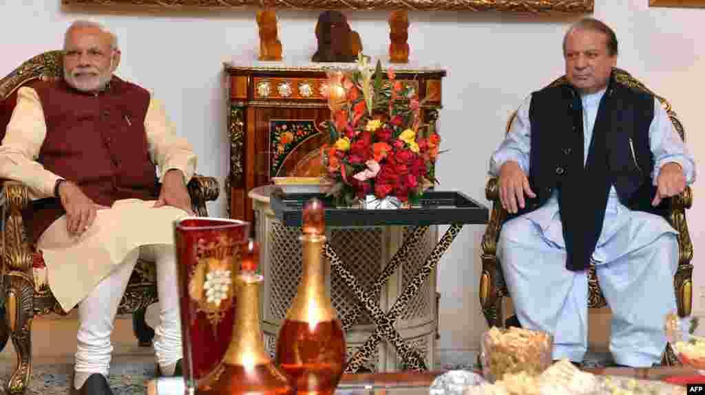 بھارتی وزیر اعظم نریندر مودی 25 دسمبر کو مختصر دورے پر لاہور آئے تھے۔