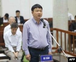 Quan chức cao cấp nhất của Việt Nam bị xét xử liên quan đến tham nhũng là ông Đinh La Thăng, ủy viên Bộ Chính trị