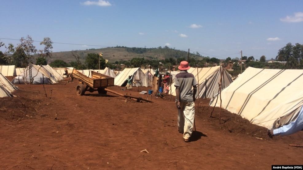 Campo de deslocados de Vanduzi, Manica, Moçambique