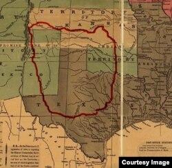 Komanchi qabilasi hozirgi Texas, Kolorado, Nyu Meksiko, Oklaxoma va Kanzas shtatlarida yashagan