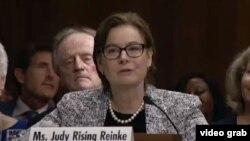 Kandidatkinja za novu američku ambasadorku u Crnoj Gori Džudi Rajzing Rajnke na pretresu u Spoljnopolitičkom odboru američkog Senata