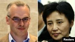 Từ trái: Ông Bạc Hy Lai, Neil Heywood và bà Cốc Khai Lai