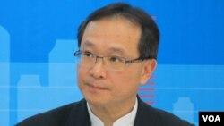 台灣透明組織組織執行長 葉一璋(美國之音張永泰拍攝)