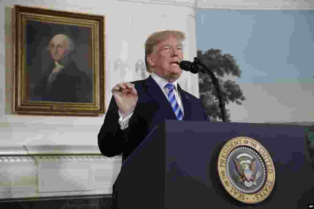 پشت صحنه تصمیم پرزیدنت ترامپ برای رد توافق هسته ای ایران