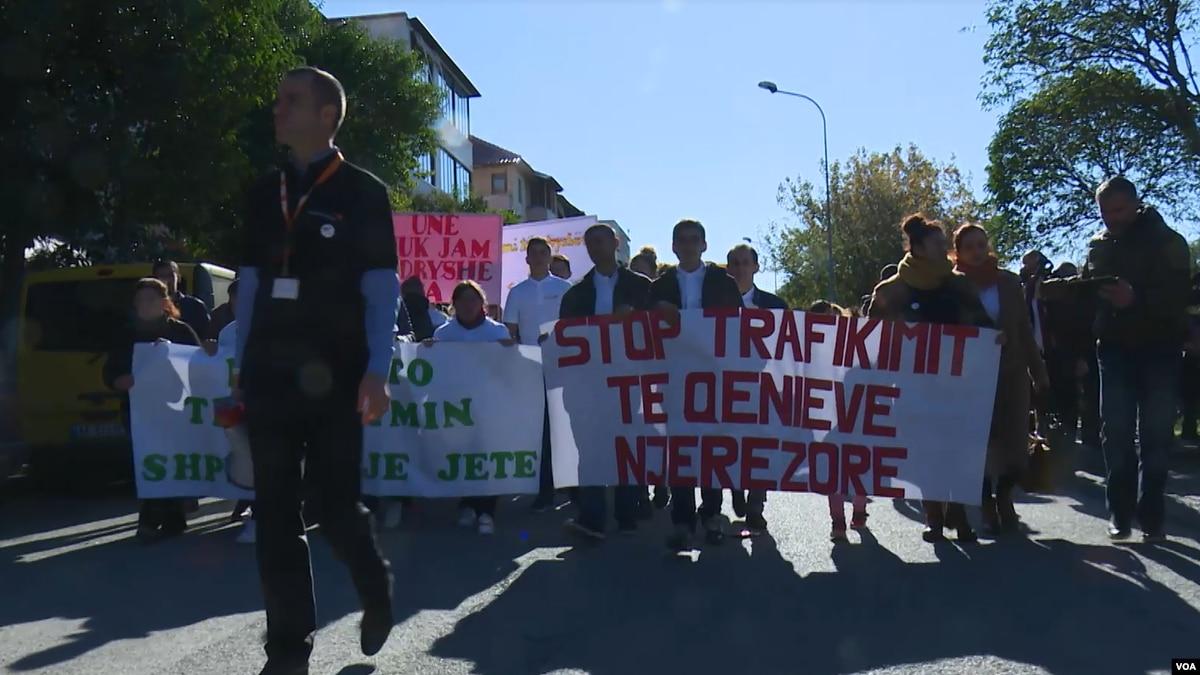 Kurbin  Protestë kundër varfërisë dhe diskriminimit