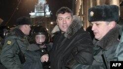 Задержание Бориса Немцова 31 декабря 2010г.