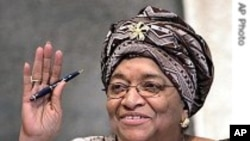 President Ellen Johnson Sirleaf of Liberia