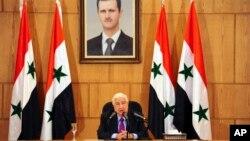 شامی وزیر خارجہ ولید المعلم (فائل فوٹو)