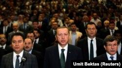 Erdogan, Babacan û Davutoglu