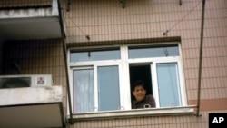 馮正虎被囚禁位於上海仁和苑的家中