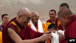 His Holiness the Dalai Lama arrives in Nubra Valley, a remote area of Ladakh, India, for an eight day visit from July 20th to 27th that will include teachings at three Buddhist monasteries.
