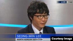 지난 8월 한국에 거주하는 탈북자 이성민 씨가 캐나다 C-TV에 출연해 북한의 인권 상황을 증언했다.
