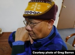 "Hoeun Hach survived the Khmer Rouge genocide and arrived in the United States in 1981. He was featured in the ""Follow the Moon"" radio documentary by Greg Barron. (Photo courtesy of Greg Barron)"