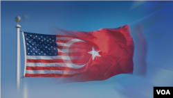US TURKEY FLAGS