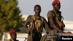 Vojnici u Južnom Sudanu