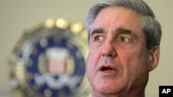 FILE - Former FBI director Robert Mueller.