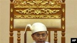 ທ່ານ Thein Sein ປະທານາທິບໍດີມຽນມາ.